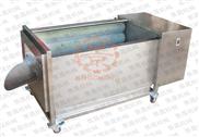 DST-6L-小型毛刷洗菜机,土豆清洗机,地瓜清洗机,生姜清洗机,淮山清洗机,红薯清洗机,鲜虾清洗机