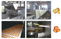 蛋黄派自动生产线