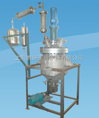 反应釜由反应容器,搅拌器及传动系统,冷却装置,安全装置,加热炉等