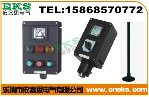工程塑料防爆防腐操作柱BZC8050-A2D2K1G