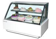 双弧蛋糕柜