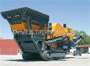 建筑垃圾处理企业热衷于移动式破碎机