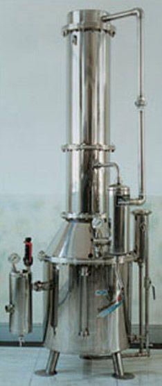 塔式蒸馏水器结构示意图