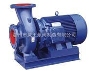 管道增压泵报价:ISWR卧式热水管道增压泵
