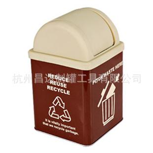 马口铁垃圾桶,马口铁罐