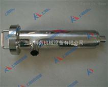 DN50不锈钢直角式管道过滤器 饮料果汁过滤设备
