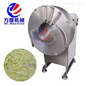 QC-S100高速切姜丝姜片机 瓜果切丝机 切笋片机