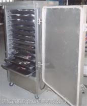千叶豆腐蒸箱 鱼豆腐全自动蒸煮箱 双门双车蒸箱