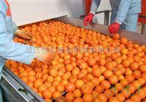橘子滚杠选果机