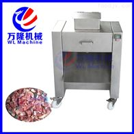 QG-500批发多功能大型鸡块切割机家禽屠宰设备
