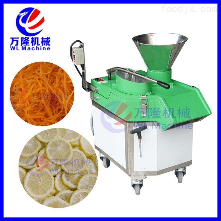 多功能切菜机 商用型 山药切片机 可以切丝 切片 切丁多种形状