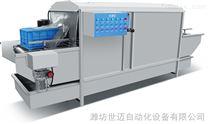 洗筐设备食品筐清洗机洗箱风干流水线厂家直供