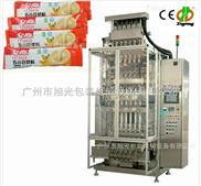 益生菌粉 胶原蛋白 保健粉 代餐粉全自动多排多列圆角粉剂包装机、