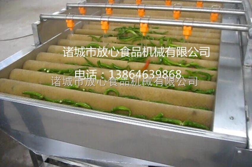 湖南小米椒清洗流水线|小米椒清洗流水线设备厂家