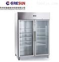 分体式风冷双门玻璃门冷藏立柜|GN1410TNG