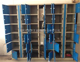 亚津ABS塑钢更衣柜 防水储物/游泳池存包柜/学生存包柜