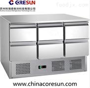 風冷帶抽屜保鮮冷藏沙拉臺|S903 6D