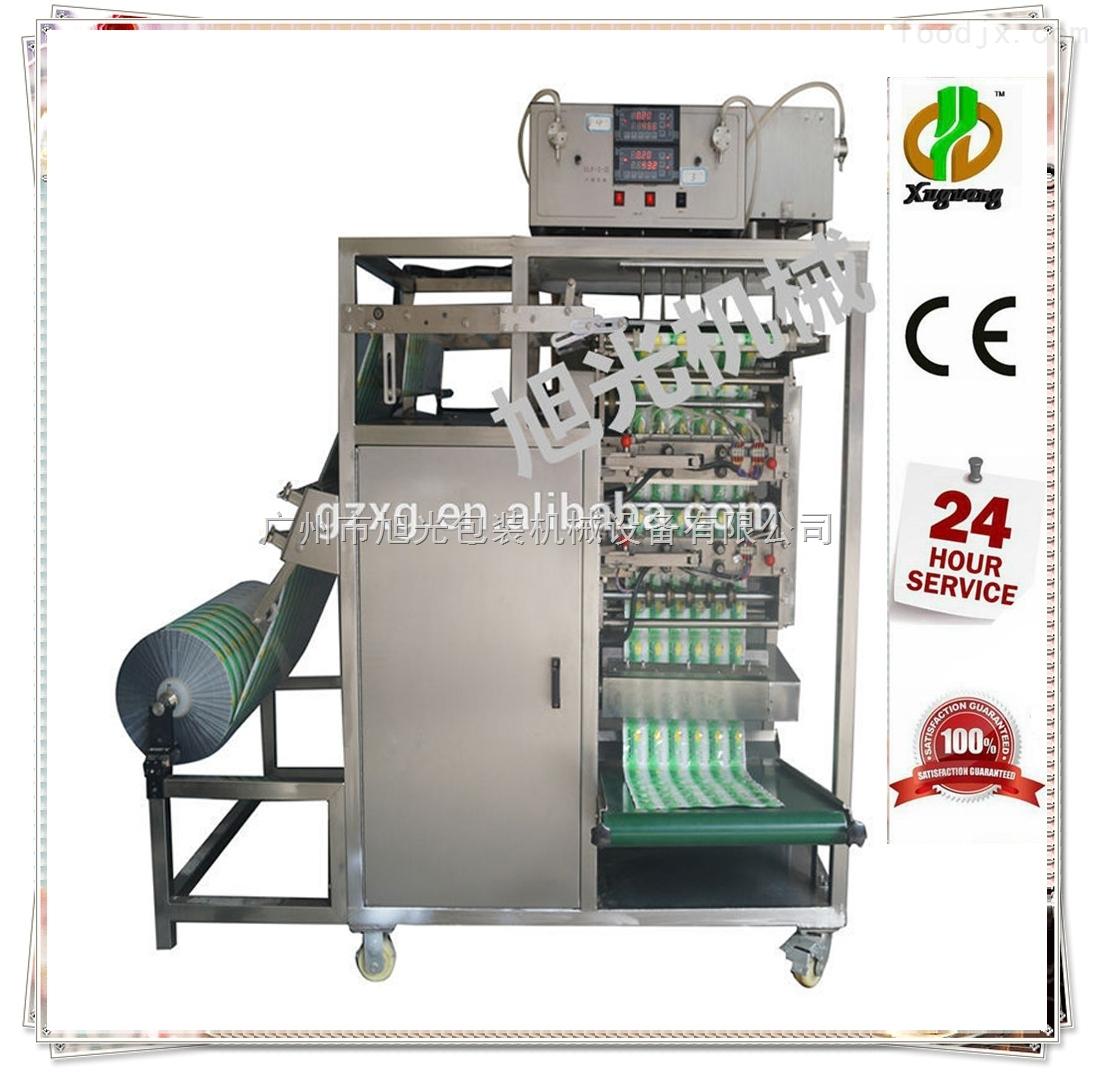 DXD-Y4/DXD-Y6/DXD-Y8-全自动多排调味酱包装机多排果酱包装机多排酱油包装机价格