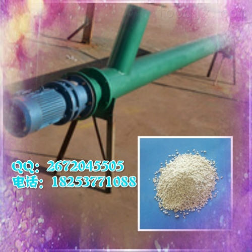 垂直螺旋输送 石灰石粉螺旋输送机