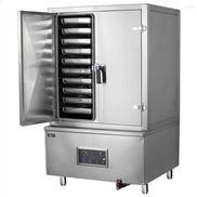 单门10盘蒸饭柜,燃气蒸饭柜