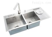 供应定做两位、三位医用不锈钢洗手池(0.01超屡膜技术)