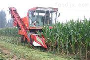 4YZP-2自走式摘穗还田剥皮型玉米收获机