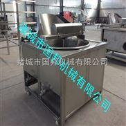 GB-2500-厂家直销导热油油炸机 豆皮 麻花油炸锅 油皮 黄金卷 春卷油炸机