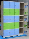 亚津柜业厂商热销全塑员工ABS塑胶防水储物柜 泳池ABS塑胶柜存包柜