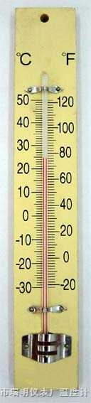 室内外温度计122