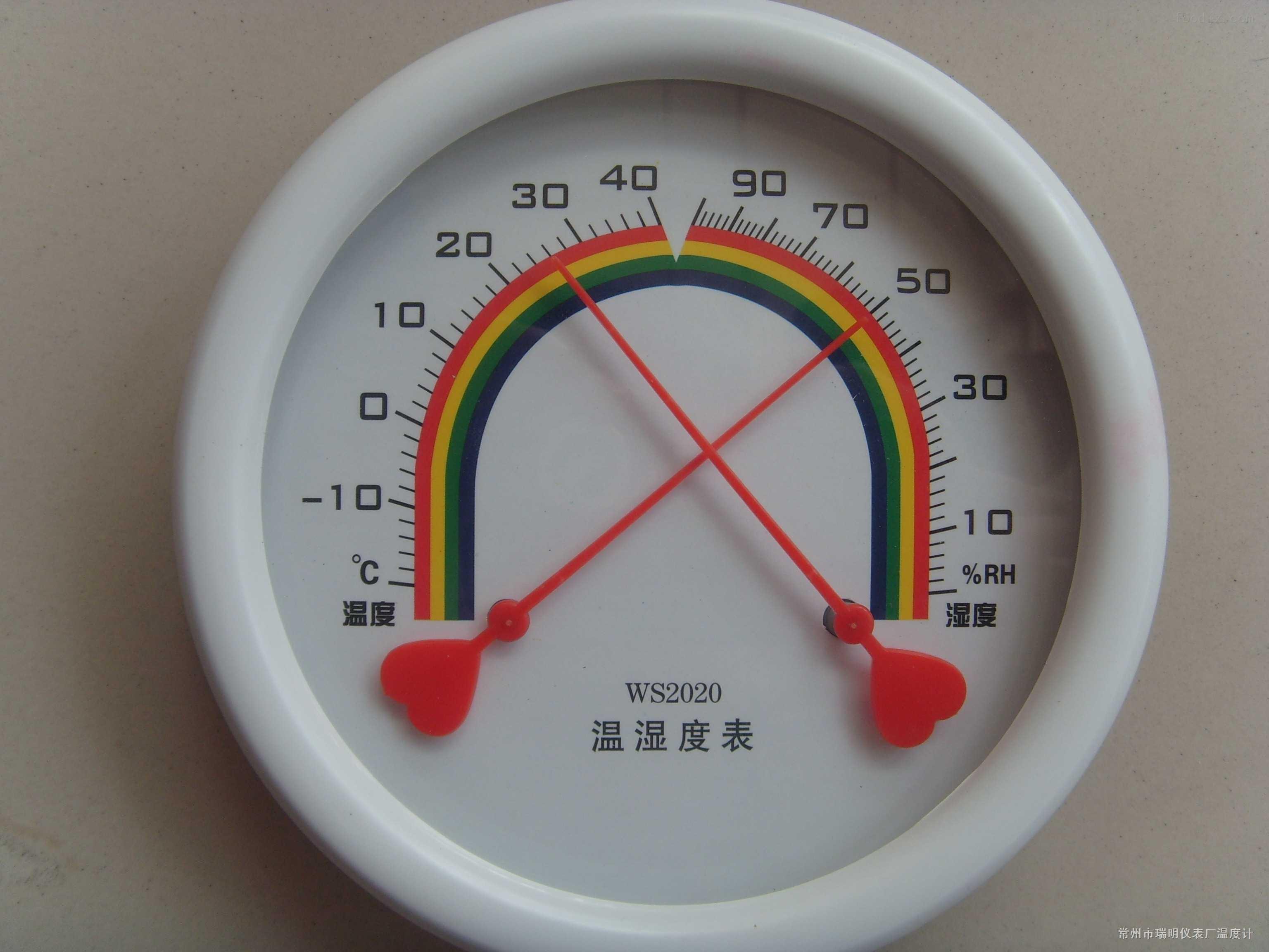 指针式温湿度表,指针式温度计,温湿度表