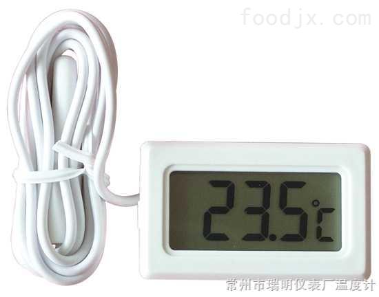 嵌入式温度显示表,冰箱温度计,电子冰箱温度计