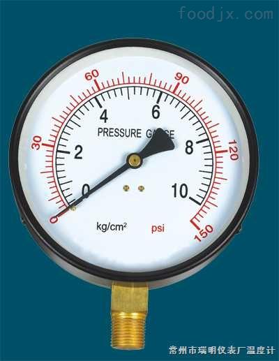 Y-系列一般压力表