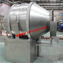 一维运动混合机 滚筒式转动混料机 大米喷雾搅拌机