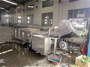 红薯加工设备红薯网带式气泡清洗机