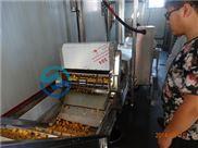 YWDZ-3000-哪里有炸鱼豆腐机器山东全自动鱼豆腐油炸机专业生产厂家