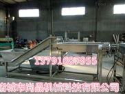 鱼豆腐专用螺旋网带提升机 食品级材质制造 油炸食品提升机