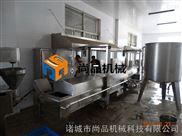 热销青岛大型鱼糜制品油炸机 网带输送油炸线