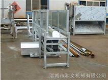 供應屠宰機械-活掛麻電兩用輸送機 麻電套腳設備