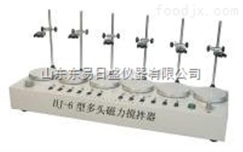 HJ-6A多头加热型磁力搅拌器