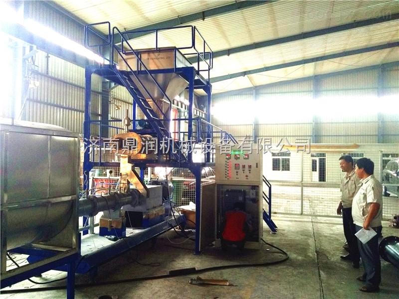 时产2-3吨水产饲料膨化机