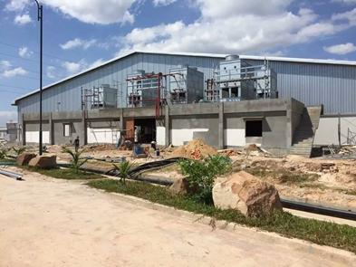 华誉柬埔寨万吨冷库项目展示