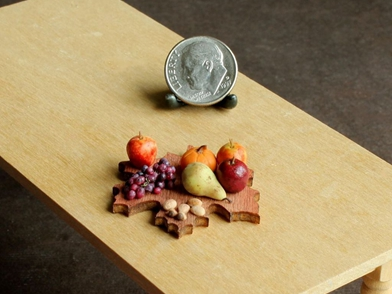指尖上的美食 微型食品模型精致逼真