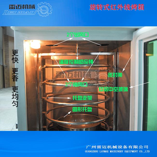 旋转式烘焙箱