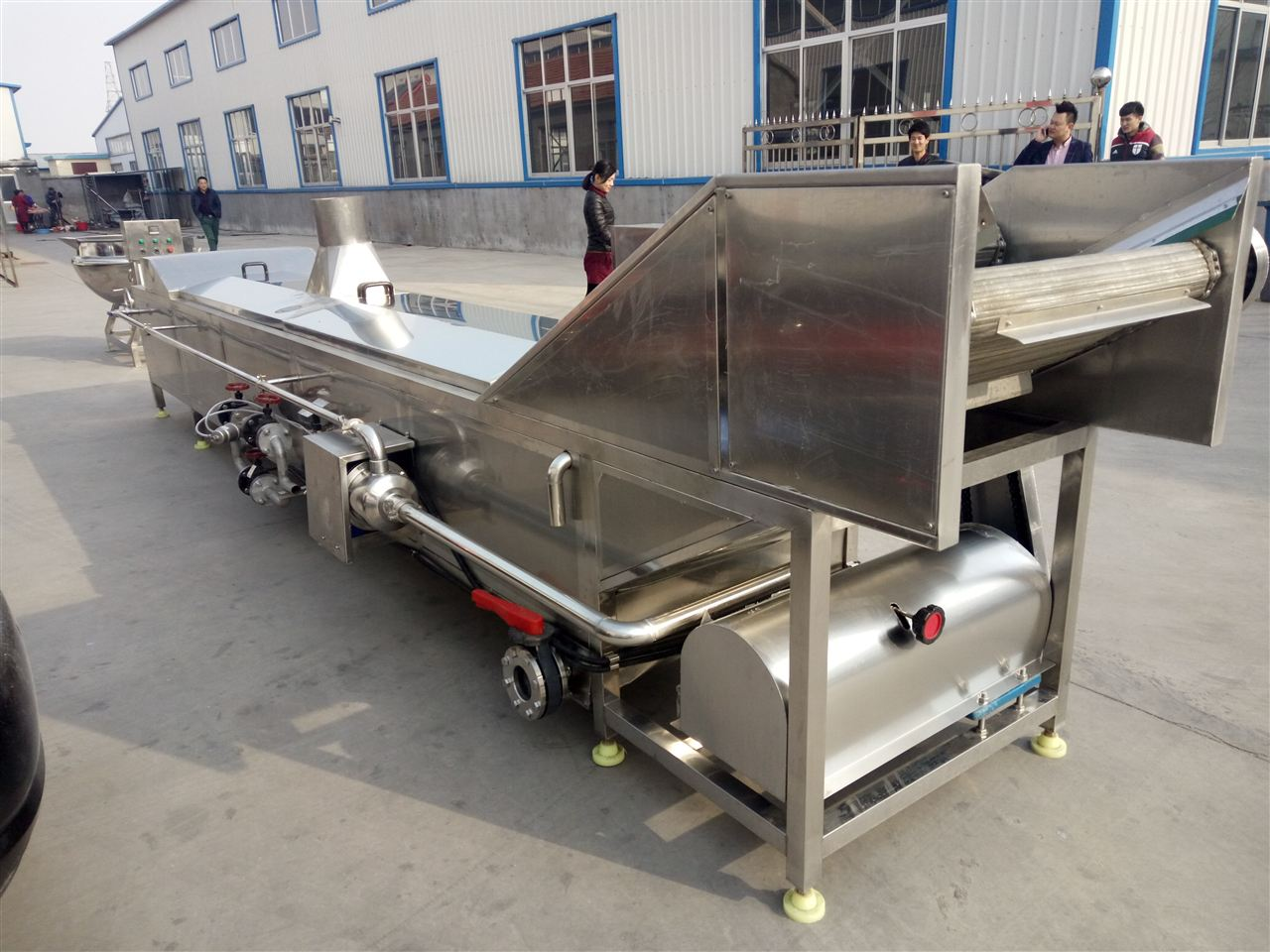 定做-十字巴氏杀菌机流水线供求加工设备-榨菜cad酱菜交叉口平面图图片