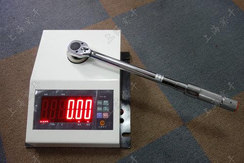 自制便携式扭力扳手测试仪