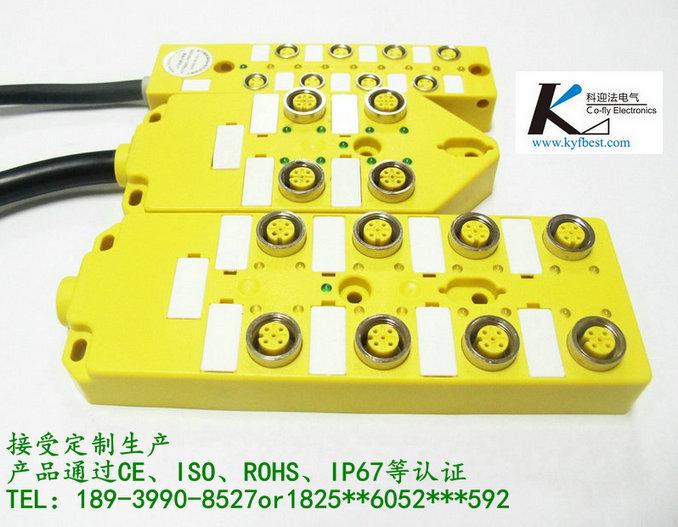d-kyf12j4zt-l5m以太网连接器m12接口,m12法兰插座
