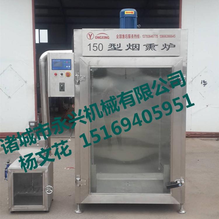 设备烤肠烟熏炉,烟熏猪头肉厂家果木_v设备信多彩PVC标贴图片