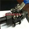Q61FQ61F三片式碳钢活接对焊球阀温州